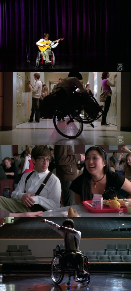 glee- dancing with my self total